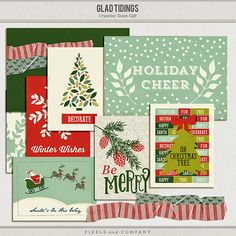 Quality DigiScrap Freebies: Glad Tidings freebie from Sweet Caroline Studio
