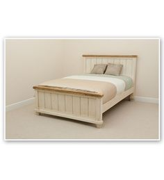 Luxurious queen size bed will be a great addition to your room with deep storage!