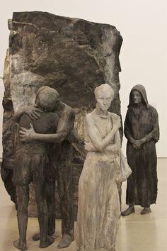 George Segal (1924). Abraham´s Farewell to Ishmael, 1987. Pérez Museum of Art, Miami. Photo: Åse Margrethe Hansen, 2014