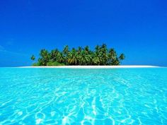 azul caribe, isla