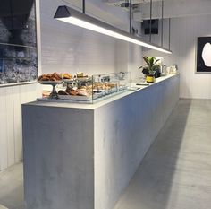 Saturdays Surf NYC / Open new store in Japan. Love the concrete counter