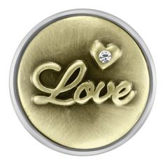 Antique Brass Love Snap. 18mm size. I love this snap! It looks snappy with any outfit!