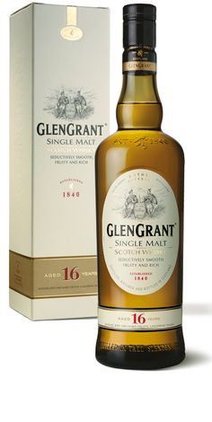 Glen Grant 16: Very pleasant. A nice example of the richer Speyside styles.