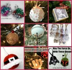 Handmade Christmas Ornaments by Shell24