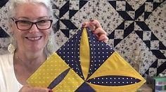 Free Unique Hexagon Star Quilt Pattern - YouTube
