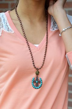 With or Without You Necklace