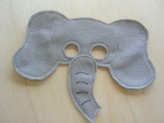 Childs Elephant Mask.