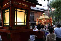 灯籠とお神輿。 祇園祭 京都 kyoto gion festival Kyoto, Broadway Shows, Events, Japan, Japanese