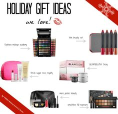 Holiday Gift Ideas! We love!   #holiday #holidaymakeup #makeup #giftsets #sephora #smashbox #marcjacobsbeauty #fresh #makeupartist #makeupartistry #makeuptutorial #tutorial #makeupschool #beautyschool #makeuplessons #makeupproducts #products #cosmetics #beauty #makeupcourses #vancouver #westvancouver #northvancouver