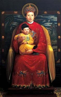Image result for our lady of china icon