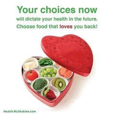 Tus elecciones hoy determinarán tu salud en el futuro :)