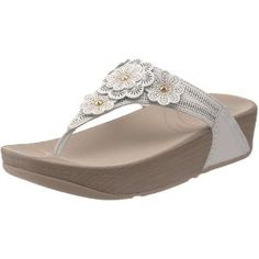 04f0391b8de6 Click on the image for more details! - FitFlop Women s Fiorella Thong Sandal
