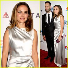 Natalie Portman & Hubby Benjamin Millepied Step Out to Support Children's Hospital Los Angeles