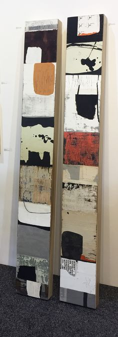 Michael Shemchuk (Shem) has exhibited nationally from coast to coast for numerous years. He is know… – Art design Art Du Collage, Modern Art Movements, Contemporary Abstract Art, Modern Contemporary, Art Sculpture, Mixed Media Sculpture, Sculpture Ideas, Watercolor Artists, Watercolor Painting