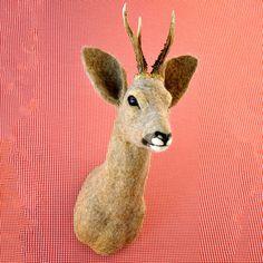 Roe Deer, 775€, now featured on Fab. Weer is wat anders van vilt