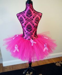 Breast Cancer Awareness Tutu Running Tutu Pink by prettypumpkin