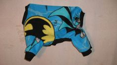 size small batman jammies by FlyingPigsInc on Etsy
