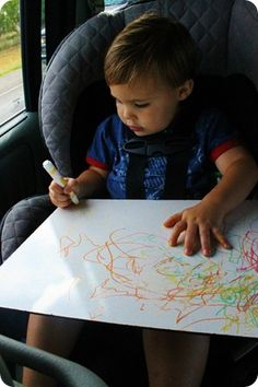 Keeping your toddler entertained while on road trips