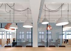 Pareti divisorie in alluminio per il Movet Office Loft di Alexander Fehre | Dd Arc Art