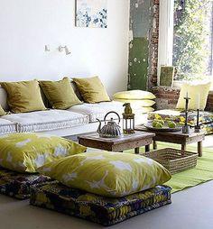 From My Begin on modern floor pillows