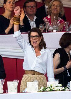 """El príncipe Alberto y Carlota Casiraghi, presiden el """"Gran Prix de Montecarlo"""""""