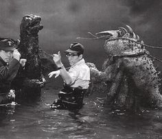 Godzilla vs The Sea Monster - Backstage 2