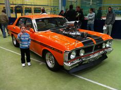 Blown Falcon GT. Thumbs up