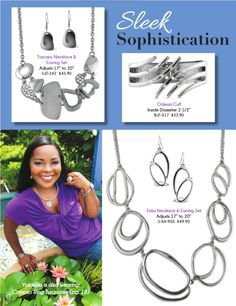 #sleek #sophistication #jewelry #azuliskye How would you wear this collection? Shop now at www.azuliskye.com/chinglo