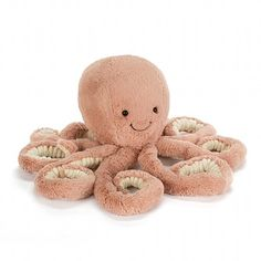 Odell Octopus Soft Toy