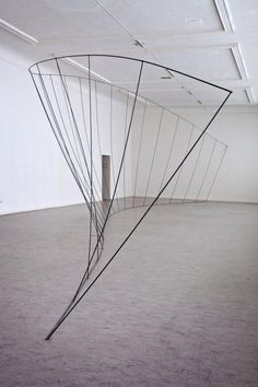 Structure with galvanised steel wire - Frederic Geurts