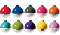 pantone ornaments.