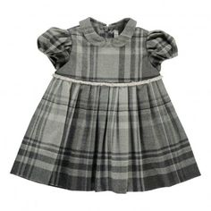 Check Claudine Collar Dress Il Gufo Baby- A large selection of Fashion on Smallable, the Family Concept Store - More than 600 brands. Fashion 2018, Fashion Brands, Fashion Dresses, Kids Clothing Brands List, Boy Meets World, Baby Girl Fashion, Collar Dress, Toddler Dress, Gray Dress