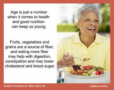 Nutrition Education for Older Adults, #5