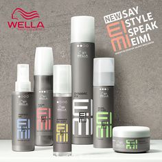Wella EIMI Hair Care and Styling http://www.salonsdirect.com/blog/say-style-speak-eimi/