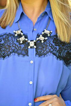 Deb Shops statement necklace