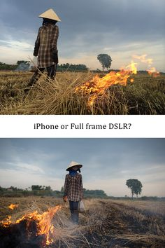 comparison between iPhone and SLR camera - iPhoneography