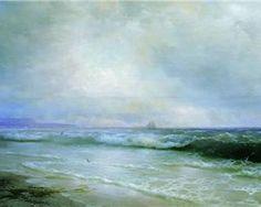 Ivan Aivazovsky ~ Surf 1893