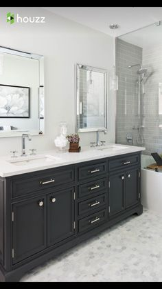 Love this look for basement bathroom