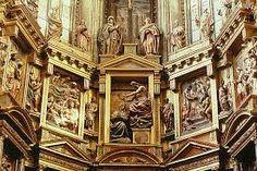 1558-1584. Retablo de la Catedral de Astorga (León) por Gaspar Becerra. Detalle