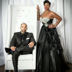 """It's official, Fantasia Barrino is a married woman. The American Idol winner said """"I do"""" to longtime beau Kendall Taylor this weekend. Yacht Wedding, Dream Wedding, Wedding Day, Wedding Bells, Wedding Anniversary, Surprise Wedding, Anniversary Photos, Wedding Reception, Wedding Looks"""