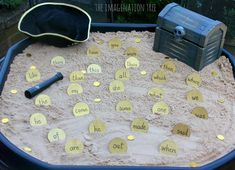 Sight Word Activity: Pirate Doubloons Treasure Hunt - The Imagination Tree Sight Word Games, Sight Word Activities, Sight Words, Pirate Activities, Phonics Activities, Activities For Kids, Motor Activities, Pirate Day, Pirate Theme