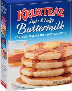 Krusteaz Pancake but