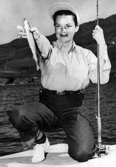 "Judy Garland ""I caught a fish"""