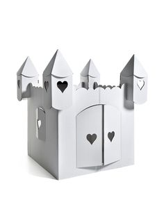 Make Your Own Princess Cardboard Castle NEW