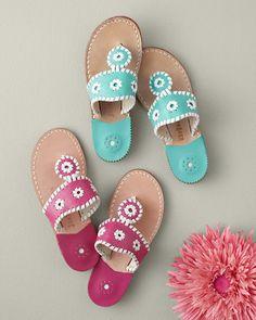C'mon Spring! Jack Rogers Palm Beach Sandals
