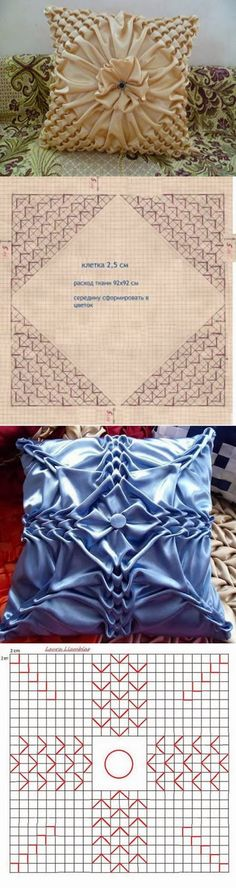 DIY : Pillow Patterns Puffed Sleeves
