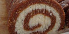 Suhi rolat - Kokos — Coolinarika Macedonian Food, Croatian Recipes, No Bake Treats, No Bake Cake, Good Food, Dessert Recipes, Coconut, Pie, Sweets