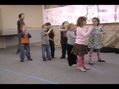 Drama Camp Exercises - YouTube (Kids move from one side of the room to the other while acting out animals or following other acting direction)