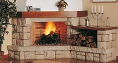 How to clean Brick Fireplace with Ordinary Household Items. Classic Fireplace, Old Fireplace, Fireplace Design, Fireplaces, How To Clean Brick, Grill N Chill, Aspen Wood, Small Apartments, Beautiful Homes