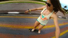 GoPro: Leticia Bufoni - Brazilian Gold A glimpse into the life of the first X Games Gold Medal Leticia Bufoni as she skates. Shot on the Brazilian Gold, X Games, Skater Girls, Gopro, Sexy Women, Running, Female, Sports, Youtube